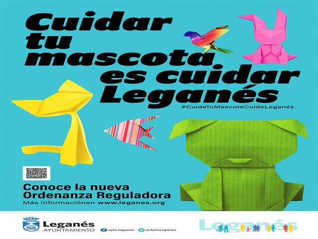 El Ayuntamiento de Leganés publica una nueva Ordenanza Reguladora de Tenencia y Protección de Animales de Compañía