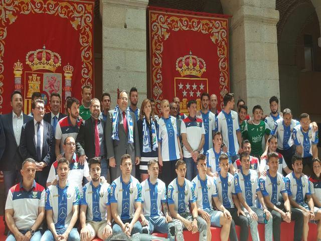 Más de 20.000 personas acompañaron al CD Leganés en la celebración de su ascenso a la Primera División de Fútbol
