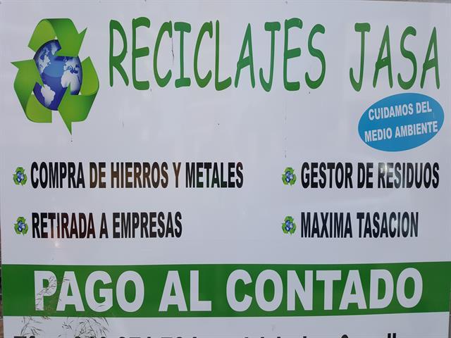 GESTOR DE RESIDUOS, COMPRA DE METALES,