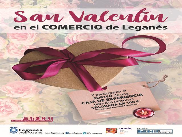 100 establecimientos participan en la campaña San Valentín, una nueva acción del Ayuntamiento de apoyo al pequeño comercio