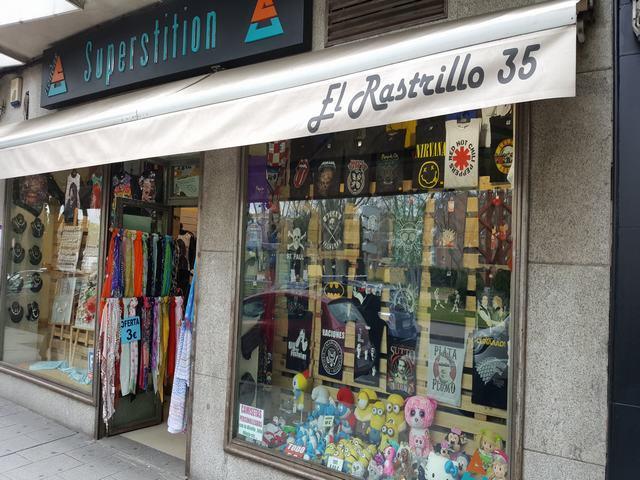 SUPERSTITION, EL RASTRILLO 35,  TIENDA DE REGALOS