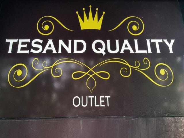 TESAND QUALITY, OUTLET DE ROPA,