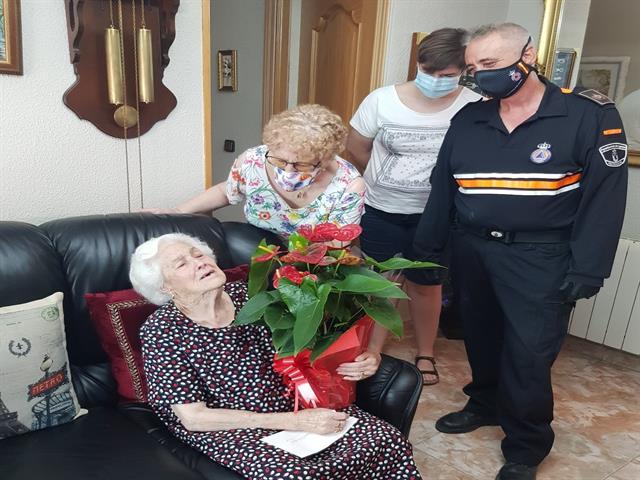 La vecina de Leganés Josefa Patiño Martín cumple 100 años