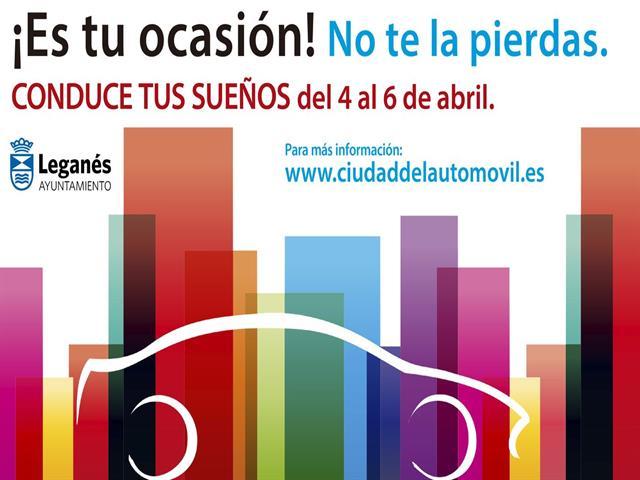 Llega la XV Semana de Ciudad del Automóvil de Leganés, el mayor salón de vehículos de ocasión de Madrid