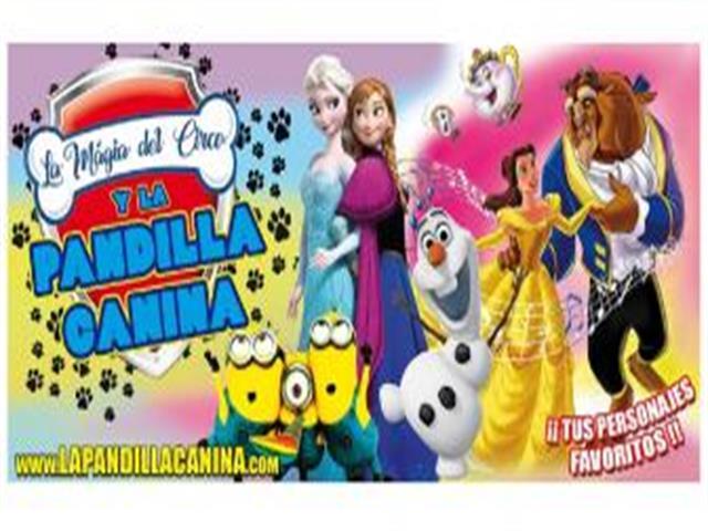 """La versión más loca de la historia de """"Caperucita Roja"""", """"Peter Pan"""" y Frozen con la Pandilla Canina y la Magia del Circo en la programación de Navidad del Teatro Municipal José María Rodero"""