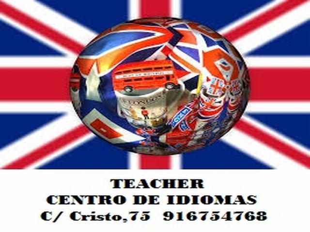 TEACHER CENTRO DE IDIOMAS