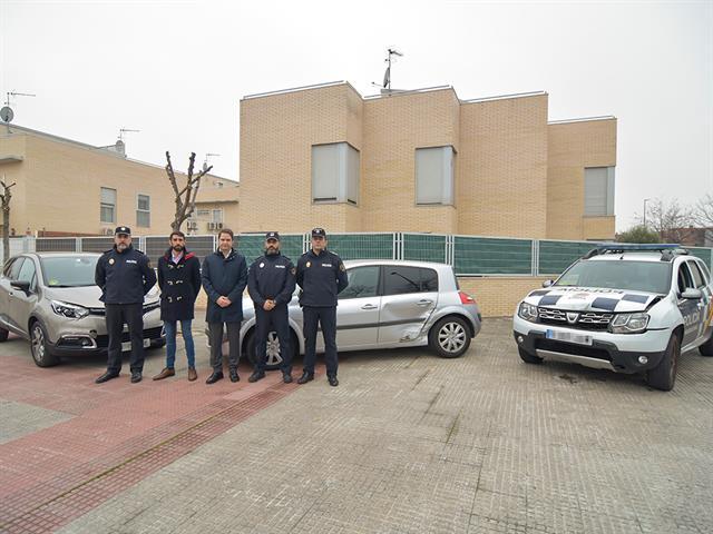 La Policía Local de Torrejón de Ardoz y el Cuerpo Nacional de Policía interceptan y detienen a una banda organizada dedicada al robo en establecimientos