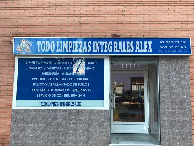 TODO LIMPIEZAS INTEGRALES ALEX