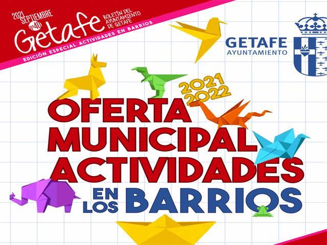 Vuelve la Oferta Municipal de Actividades en los Barrios con un importante incremento de cursos online