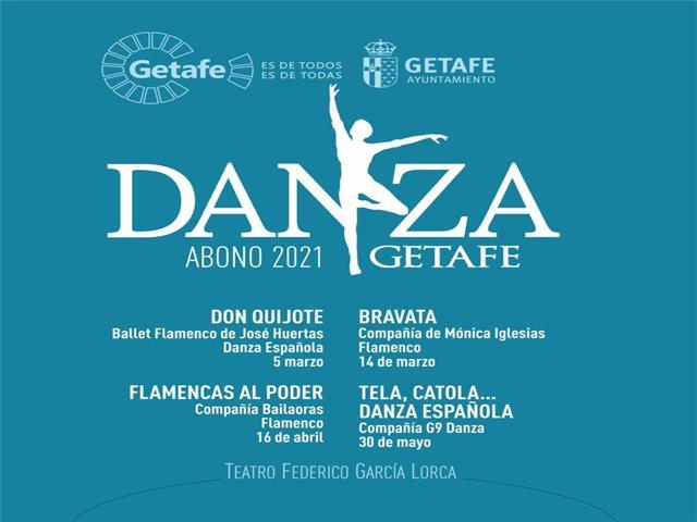 Getafe presenta su nuevo Abono de Danza