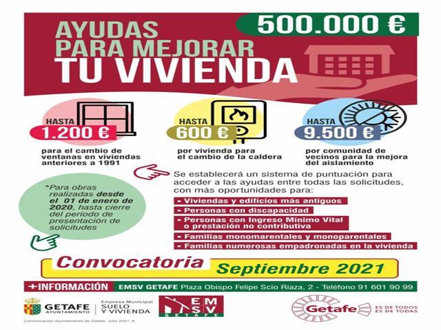 A partir de septiembre 500.000 euros en ayudas para cambiar ventanas, calderas y mejorar el aislamiento