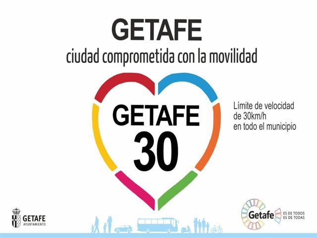 Entra en vigor la modificación de la velocidad a 30 km/h en ciudad que Getafe inició hace meses