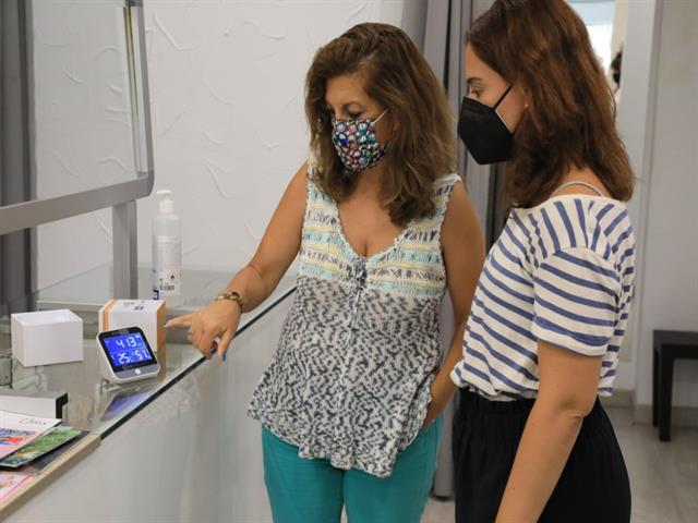 GISA entrega gratuitamente 1.650 medidores de CO2 a pequeños comercios y hostelería