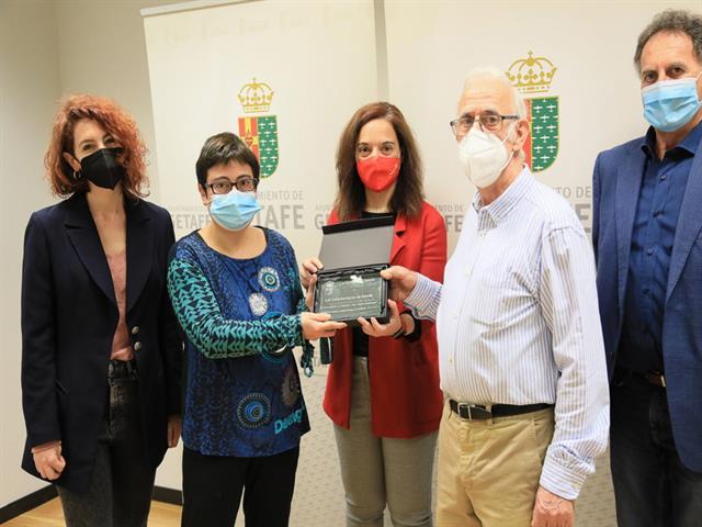 Reconocimiento al Voluntariado de Getafe por su esfuerzo durante la pandemia