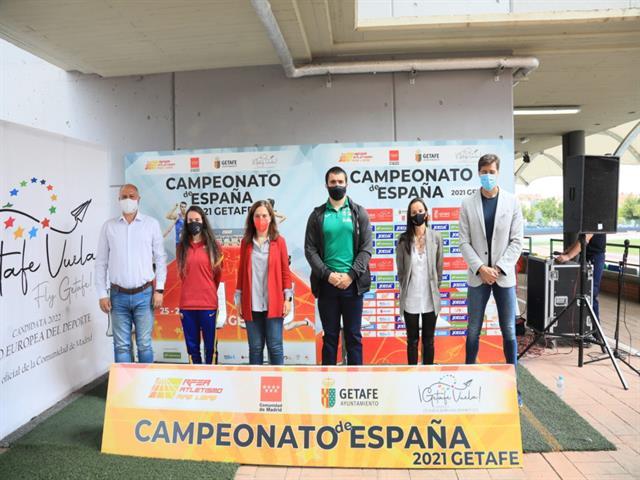 Getafe acoge este fin de semana el Campeonato de España de Atletismo Absoluto al Aire Libre