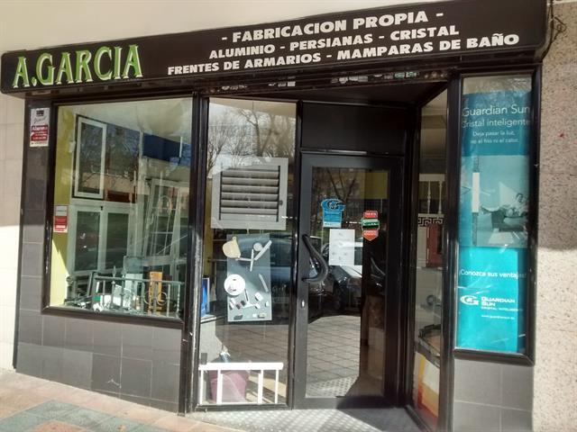 A. GARCIA, CARPINTERIA DE ALUMINIO Y PVC