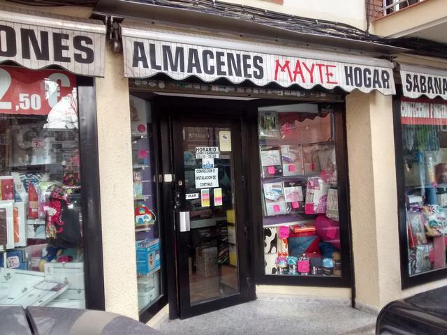 ALMACENES MAYTE, ROPA DE HOGAR, INSTALACIÓN Y CONFECCIÓN DE CORTINAS, TAPICERÍA