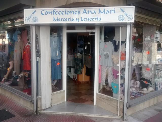 ANA MARI, MERCERÍA, CONFECCIÓN, LENCERÍA
