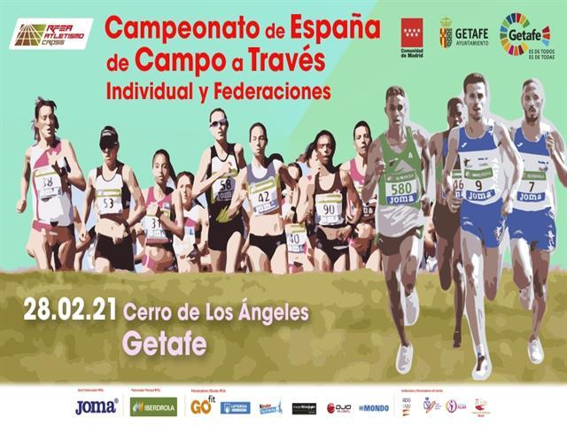 El Cerro de los Ángeles de Getafe será el circuito del Campeonato de España de Campo a Través
