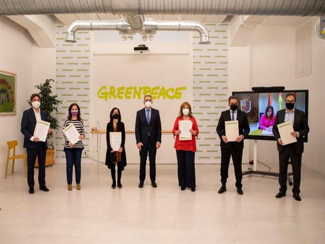 Getafe y Greenpeace se comprometen para mejorar la movilidad de la ciudad