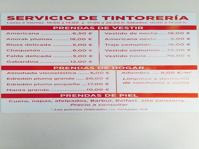 LA COLADA, LAVANDERÍA, PLANCHADO, AUTOSERVICIO, TINTORERÍA