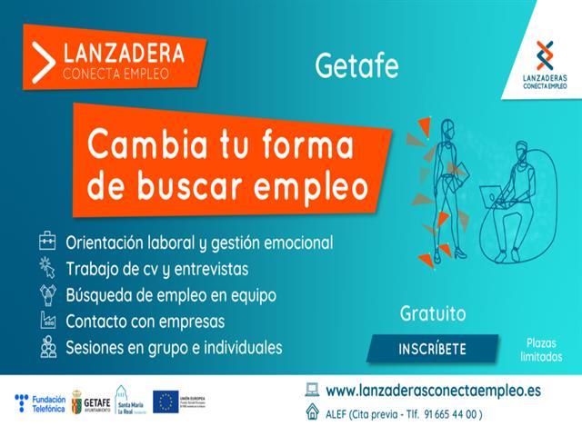Dos nuevas Lanzaderas de Empleo para 60 personas en Getafe