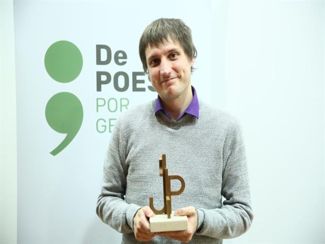 Guillermo Molina Morales recibe el Premio Internacional de Poesía Margarita Hierro