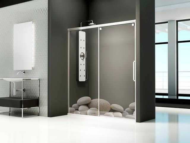 Mamparas baño a medida Profiltek 20% descuento
