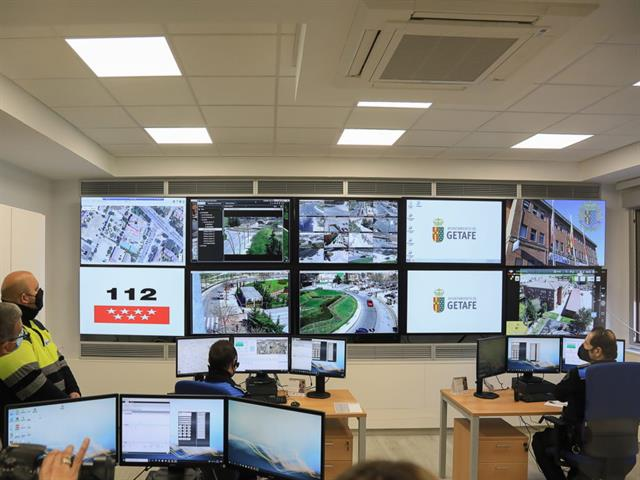 La Policía Local de Getafe cuenta con una nueva Sala de Comunicaciones que supone un avance en materia de seguridad