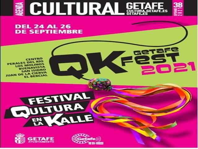 Getafe se llena de actividades en la calle con QKfest del 24 al 26 de septiembre